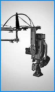 Camera power head microdolly hollywood for Pan and tilt head motorized